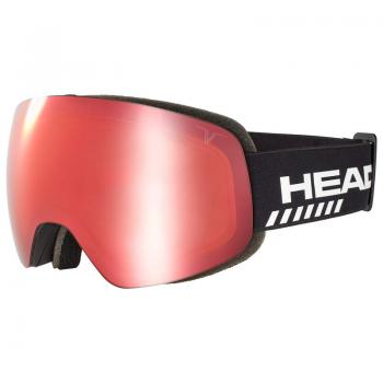 HEAD GLOBE TVT RACE red + SpareLens 19/20 - Skibrille