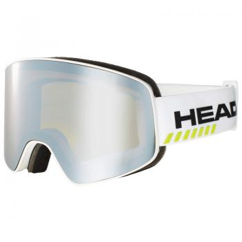 HEAD HORIZON RACE white + SpareLens 19/20 - Skibrille